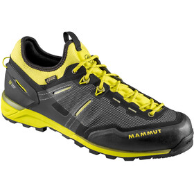 Mammut Alnasca Knit Low GTX Shoes Men black-citron